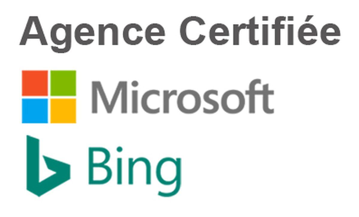 agence certifiee microsoft bing